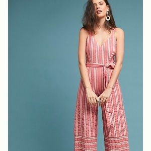 BNWT Anthropologie Pantsuit Size Large
